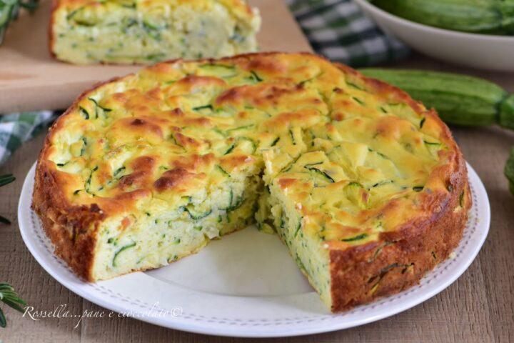TORTA alle Zucchine Invisibile la Ricetta da fare in 5 minuti al forno