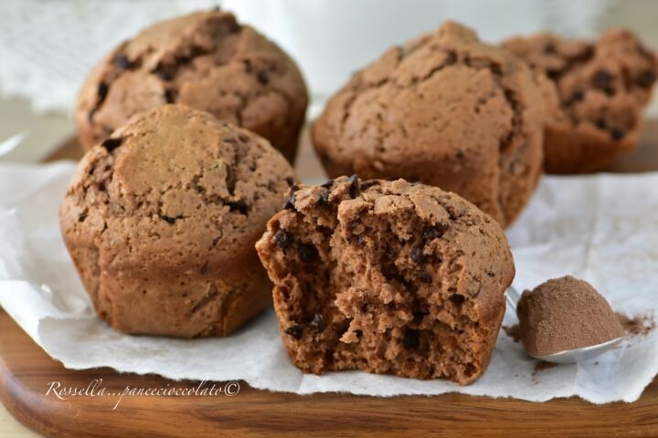 Muffin al Nesquik la Ricetta dei Dolci facili e pronti in 5 minuti