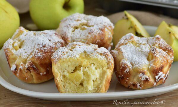 TORTINE SFOGLIA di MELA ripiene di mele e mandorle la Ricetta Dolce facile