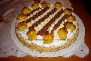 Come realizzare la Torta Saint Honorè in casa