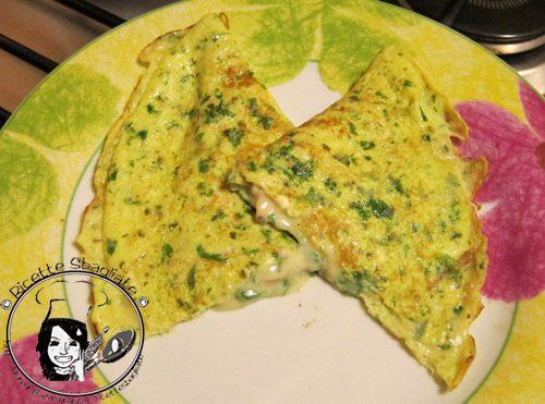 Omelette alle vongole, ricetta bretone