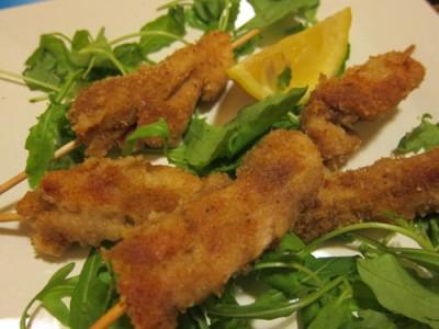 Bocconcini di pollo ideali per una cena tradizionale o in piedi