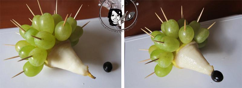 decorazione per buffet, decorazioni frutta