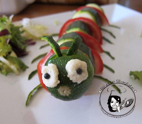 Sesta puntata delle decorazioni per buffet il bruco for Decorazioni con verdure e ortaggi