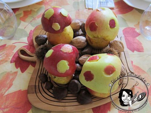 Settima puntata delle decorazioni per buffet il bosco - Decorazioni mela ...