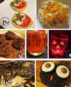 menu halloween senza zucca