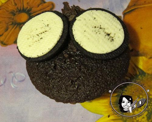muffin a gufo - ricetta Halloween