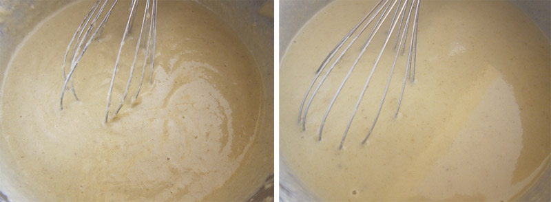 vellutata carciofi e patate con crostini e noccioline