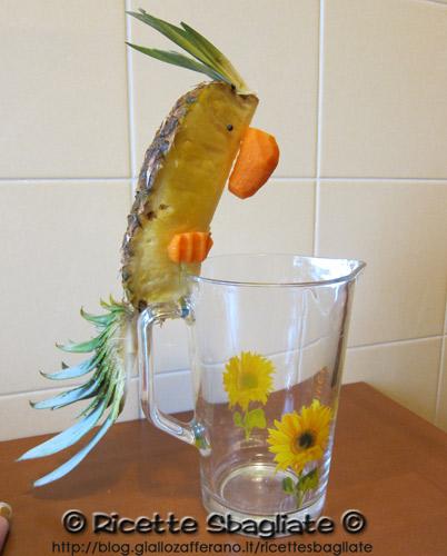 decorazioni per buffet il pappagallo, ideale per feste, aperitivi e cocktail