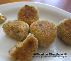 polpette tonno e patate cena romantica, finger food o tapas