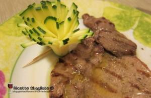 Decorazioni per piatti, i fiorellini di zucchina