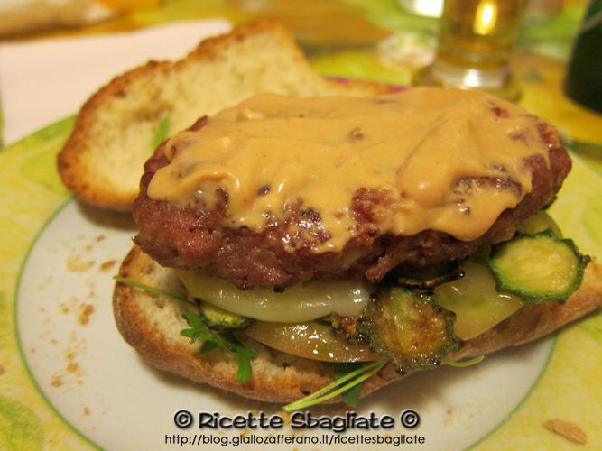 spesso Hamburger speciale, dal tocco mediterraneo BN48