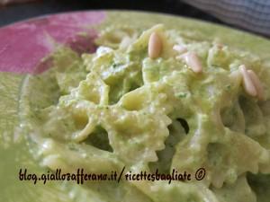 pesto zucchine e robiola
