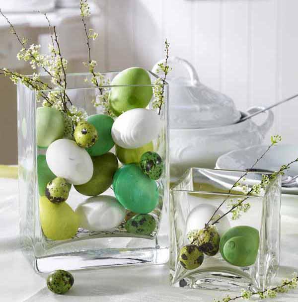 Idee per la tavola e decorazioni di pasqua for Centrotavola in inglese