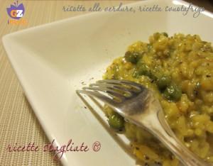 risotto verdure, ricetta svuotafrigo