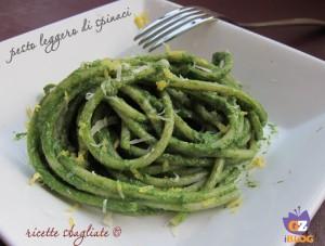 pesto spinaci e noci