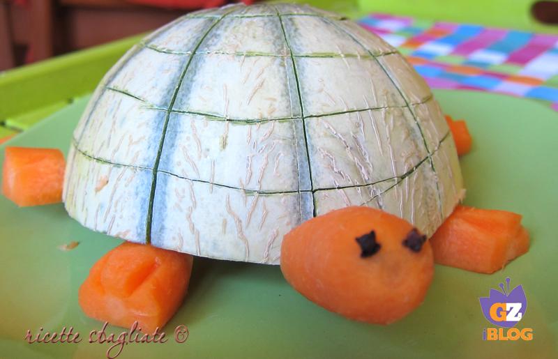 tartaruga con il melone