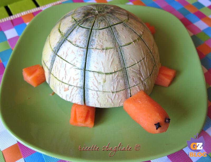 Decorazioni Buffet Frutta : Tartaruga melone idee tavola e buffet