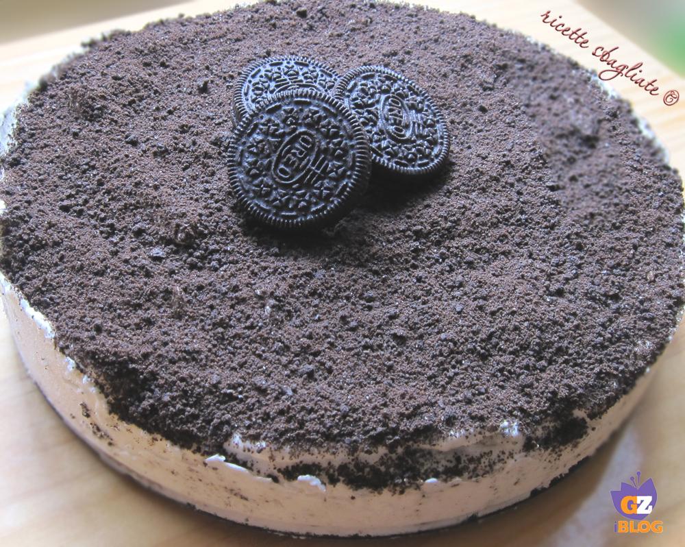 torta biscotti oreo
