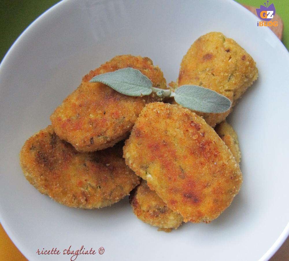 crocchette patate e zucchine
