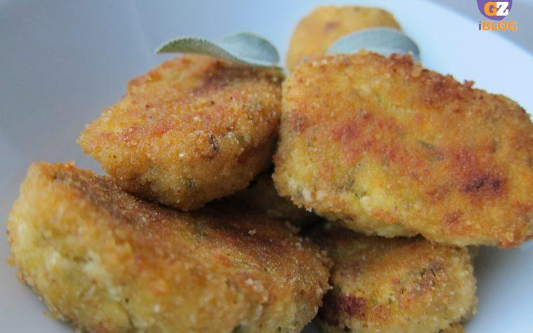 Crocchette con zucchine e formaggio, ricetta riciclo