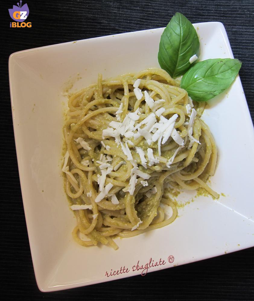spaghetti kamut pesto di fagiolini