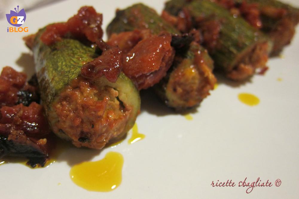 zucchine con macinato
