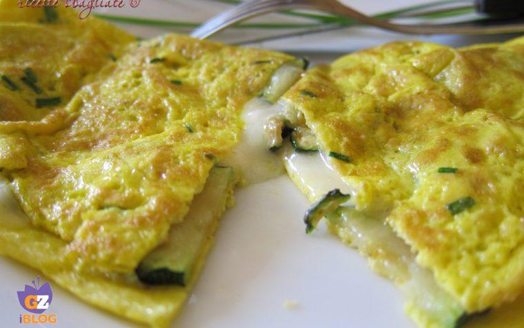Frittata zucchine e taleggio, ricetta riciclo