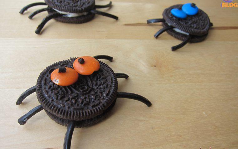 Simpatici ragni biscotti di Halloween