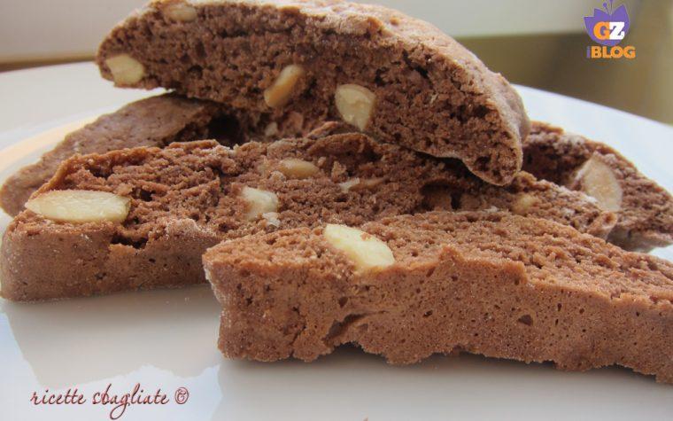 Cantucci cacao e mandorle