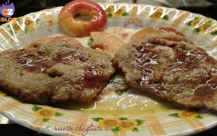 Scaloppine alle mele, secondo piatto originale