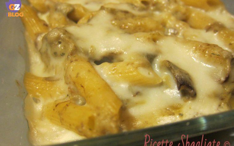 Pasta al forno carciofi e besciamella leggera