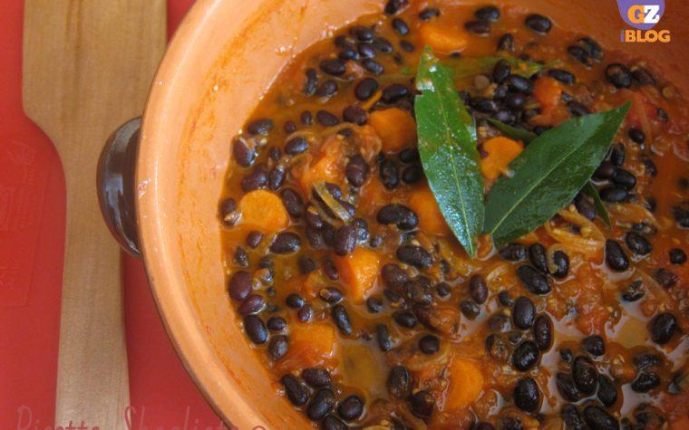 Zuppa di fagioli neri, ricetta piccante