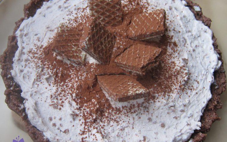 Torta ai wafer, ricetta super dolce senza cottura