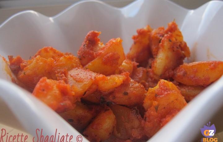 Finte patatas bravas, ovvero ricetta alternativa per le patate lesse