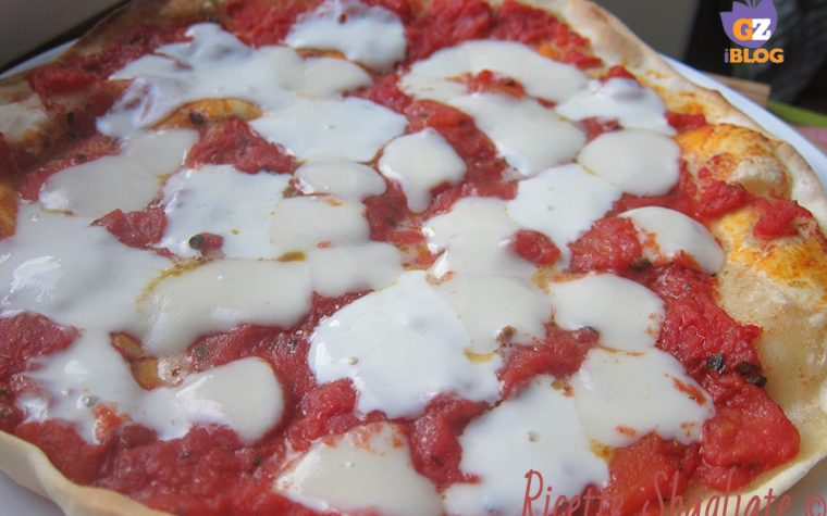 Pizza senza lievito super croccante