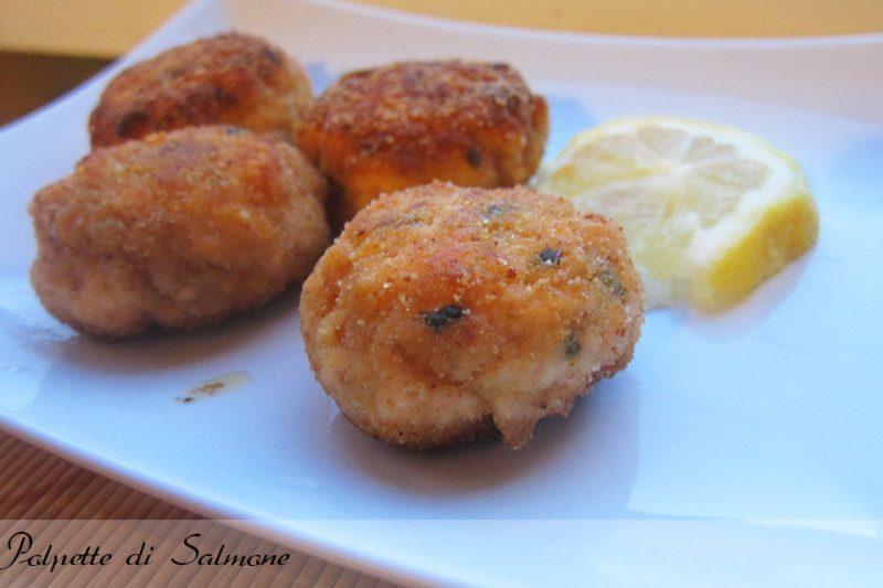 Polpette al salmone, secondo di pesce o antipasto
