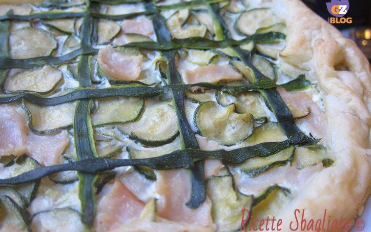 Crostata salata alle zucchine e ricotta
