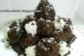 Bignè di ricotta ricoperti di cioccolato