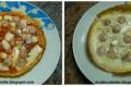 La pizza uovo