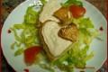 Cuoricini con mousse di tonno
