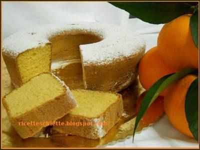 Ciambella all'arancia