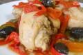 Coscette di pollo ai peperoni