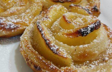 Rose di mele – Ricetta dolce