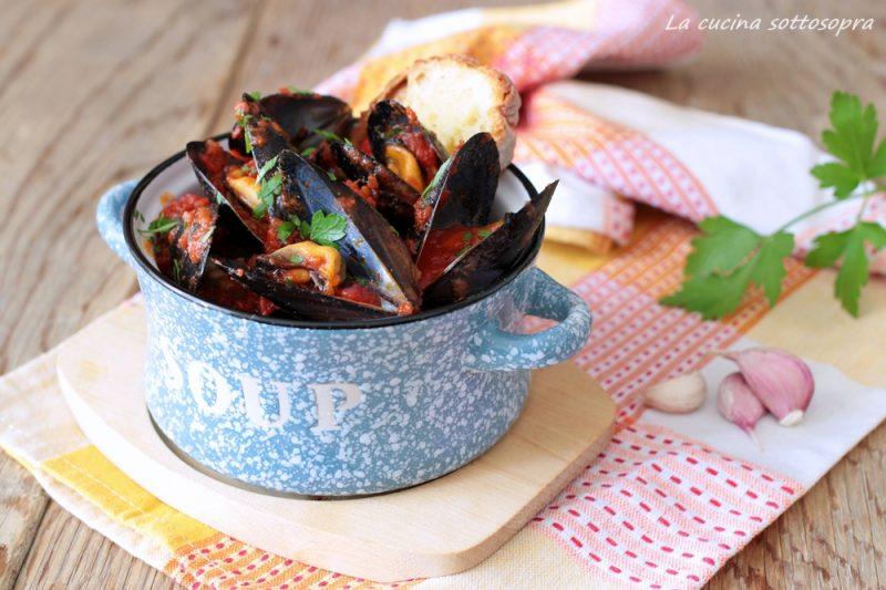 Zuppa di cozze – antipasto di mare semplice e veloce
