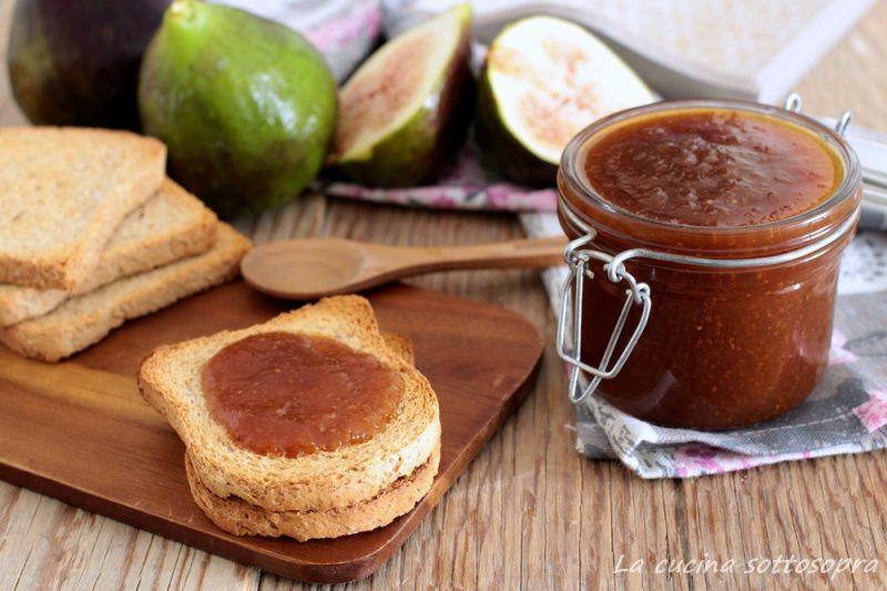 Marmellata di fichi con poco zucchero
