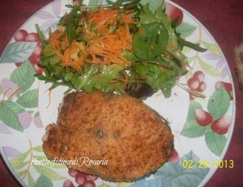 Salmone al forno aromatizzato/ricetta pesce