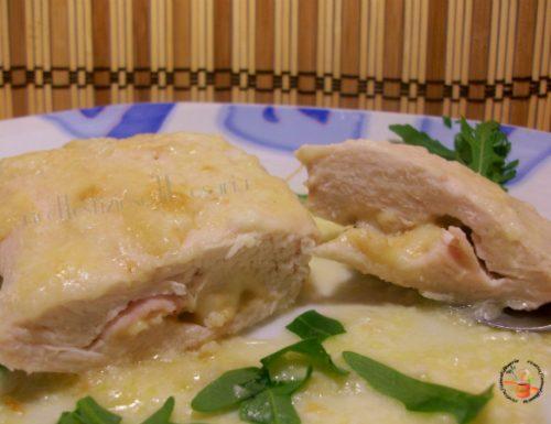 Tasca di pollo ripiena al latte – ricetta secondo appetitoso