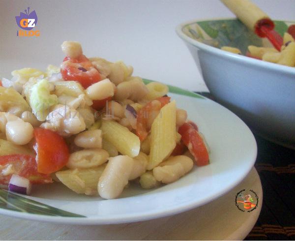 Ricette pasta fredda con fagioli
