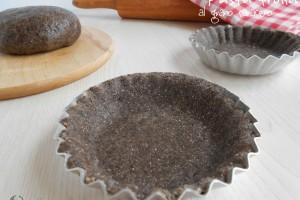 Pasta frolla al grano saraceno senza burro